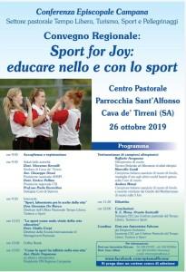 Conferenza Episcopale Camapana - Settore pastorale Tempo Libero. Turismo, Sport